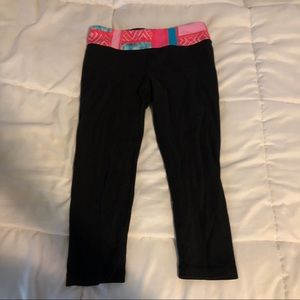 Ivivva athletic cropped leggings girls size 8